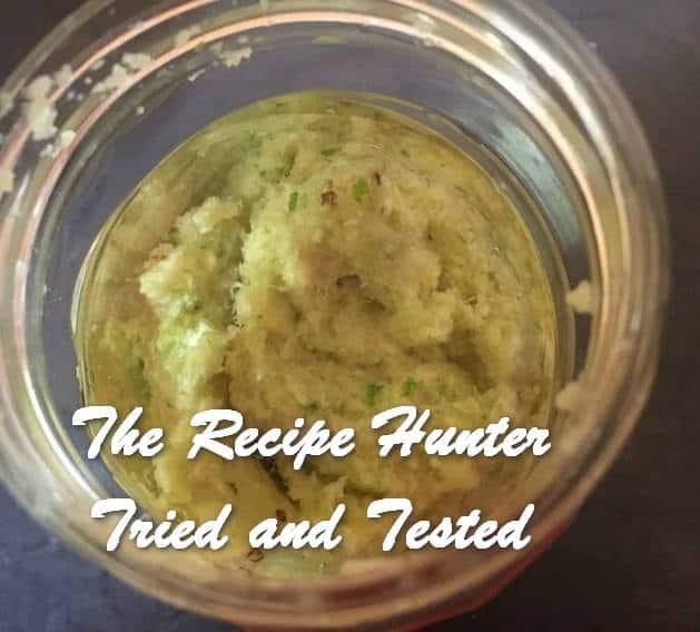Bobby's Homemade Ginger and Garlic Paste