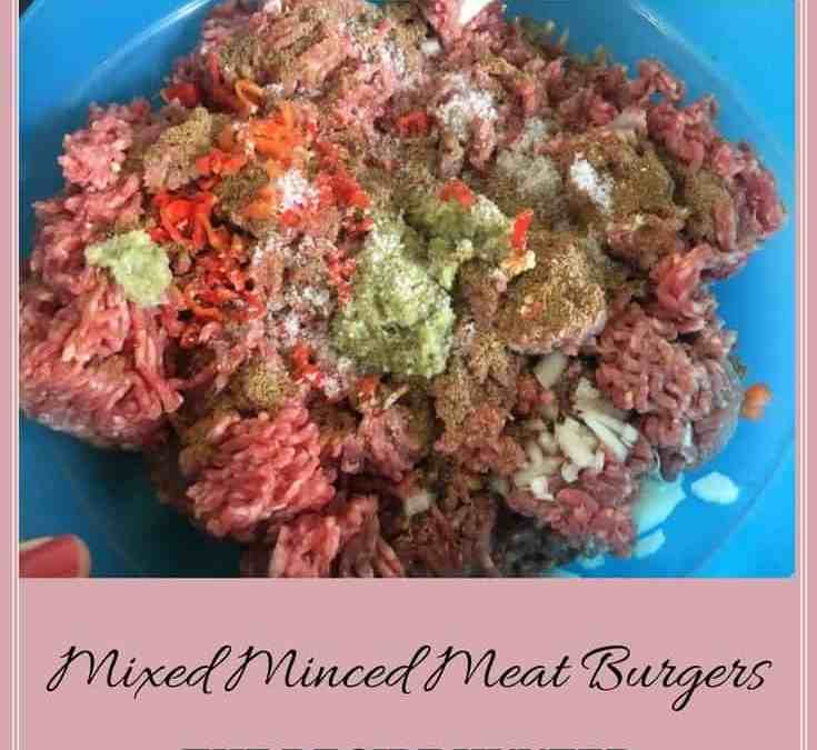 Bobby's Mixed Mince Meats Burgers