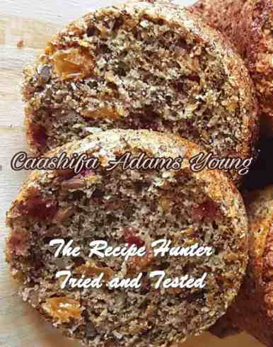 Caashifa's Healthy Mixed Berry And Seed Muffins