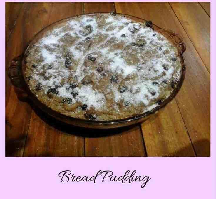 Carol's Bread Pudding