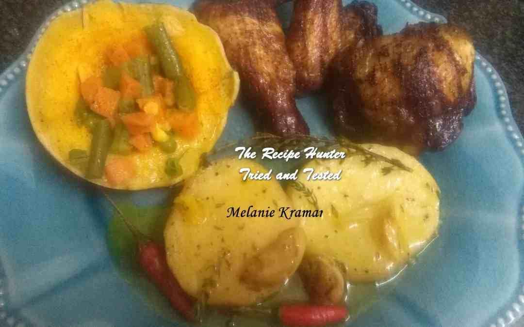 Melanie's Hong Kong Chicken with Fondant Potatoes