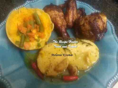 Melanie's Hong Kong Chicken with fondant Potatoes.jpg