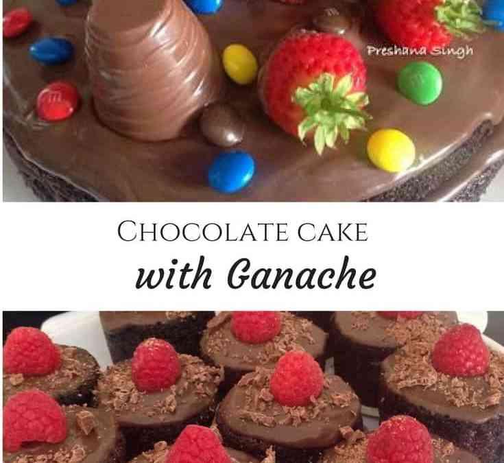 Preshana's Chocolate cake with Ganache