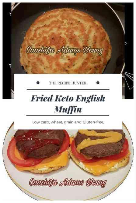 Fried Keto English Muffin