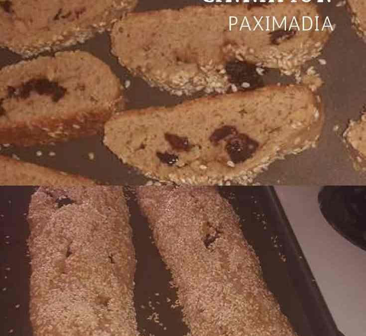Belinda's Greek Biscotta with Anise and Cinnamon