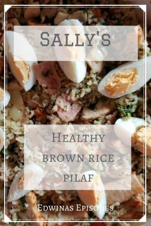 Sally's Healthy Brown Rice Pilaf