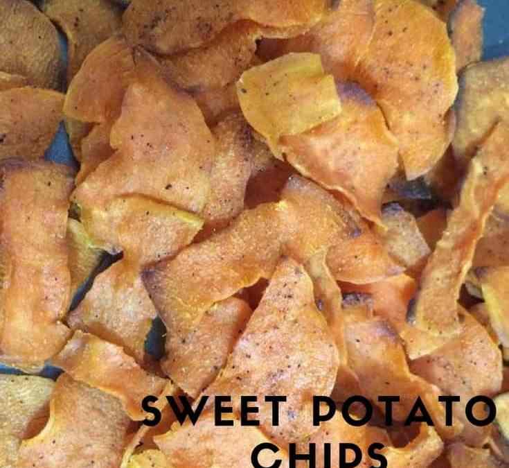 Angela's Sweet Potato Chips