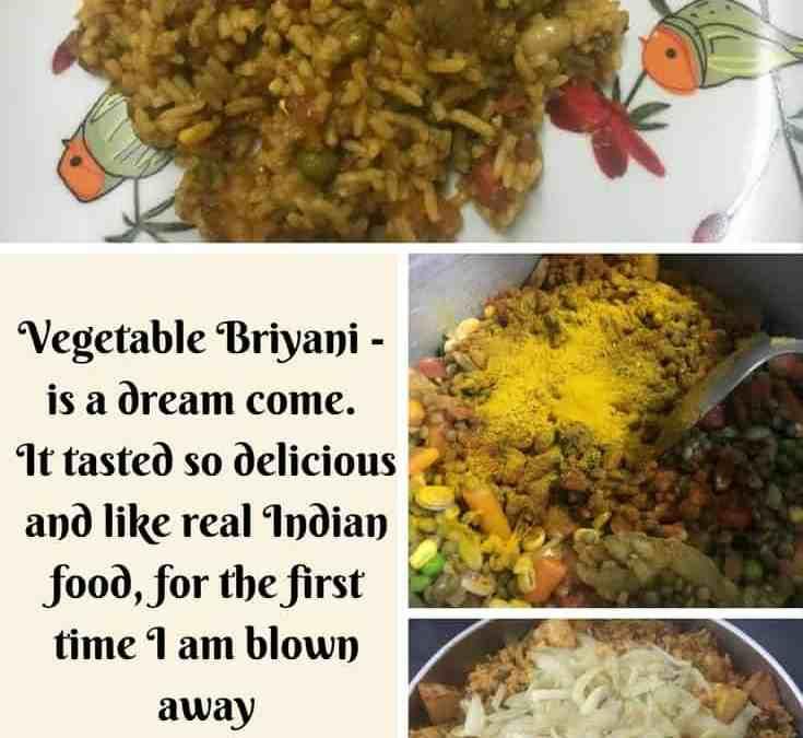 Bobby's Vegetable Briyani