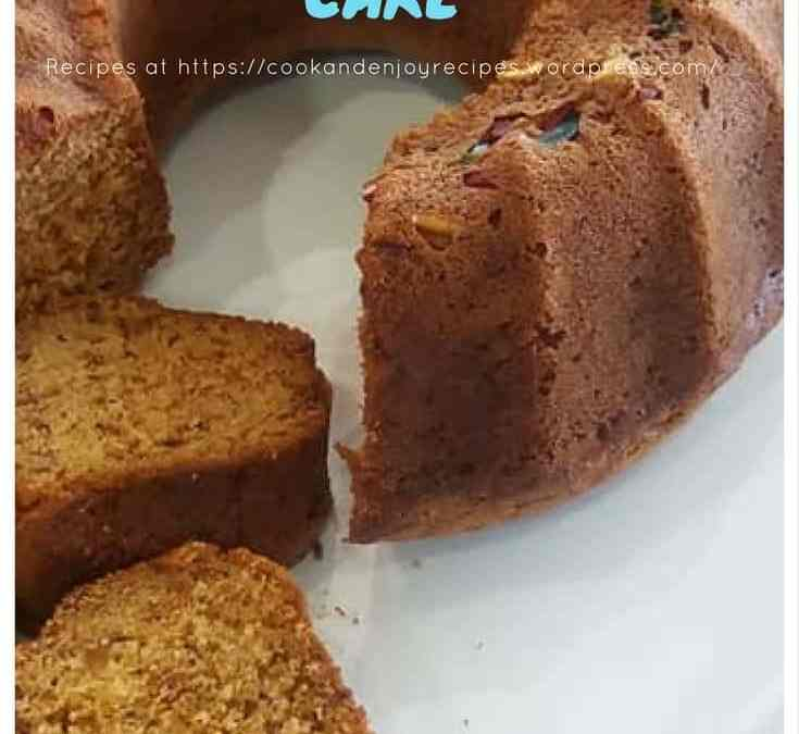 Feriel's Carrot and Banana Cake