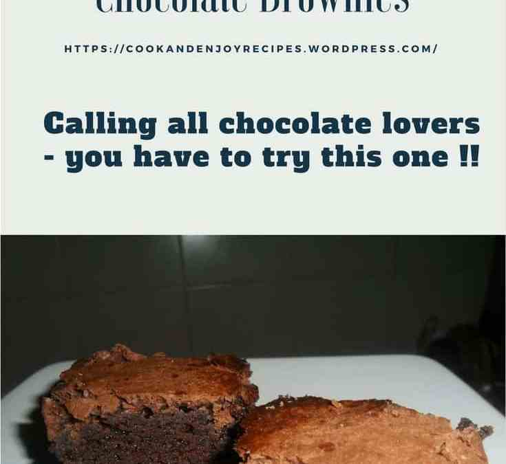 Carol's Chocolate Brownies