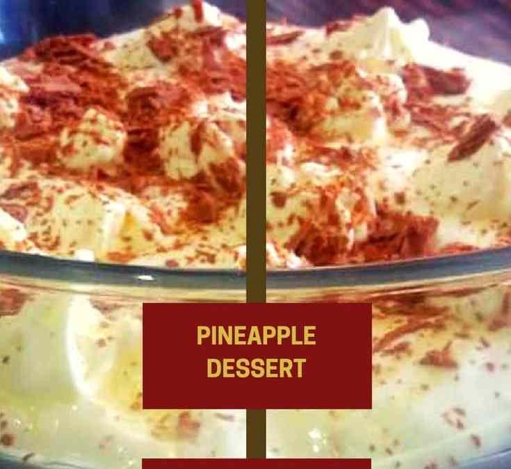 Feriel's Pineapple Dessert