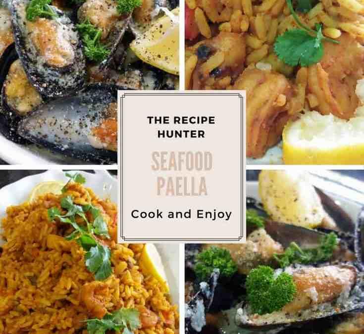 Feriel's Seafood Paella