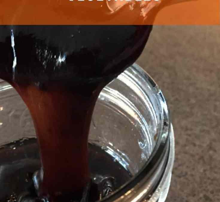 Es's Balsamic Glaze for roasted vegetables