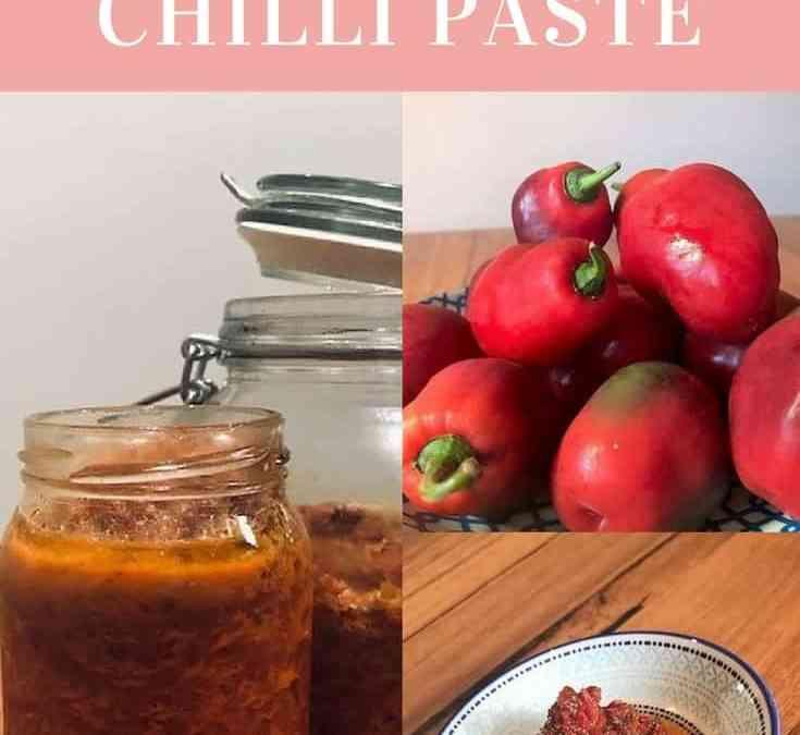 Lorelle's Homemade Chilli Paste