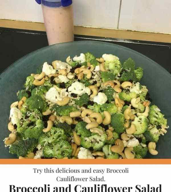 Hannah's Broccoli and Cauliflower Salad