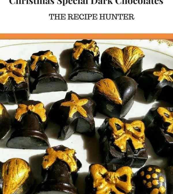 Moumita's Christmas Special Dark Chocolates