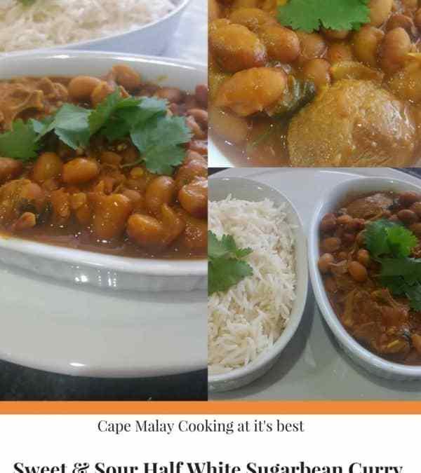 Feriel's Sweet & Sour Half White Sugarbean Curry