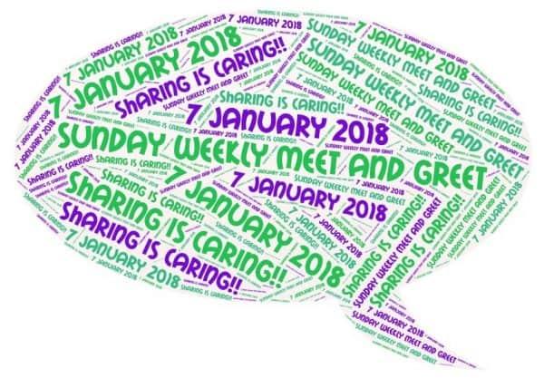 #1: Sunday Weekly Meet and Greet