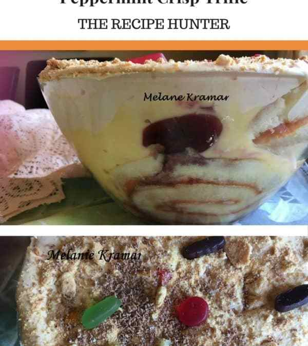 Melanie's Peppermint Crisp Trifle