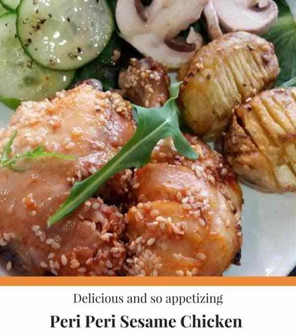 Peri Peri Sesame Chicken