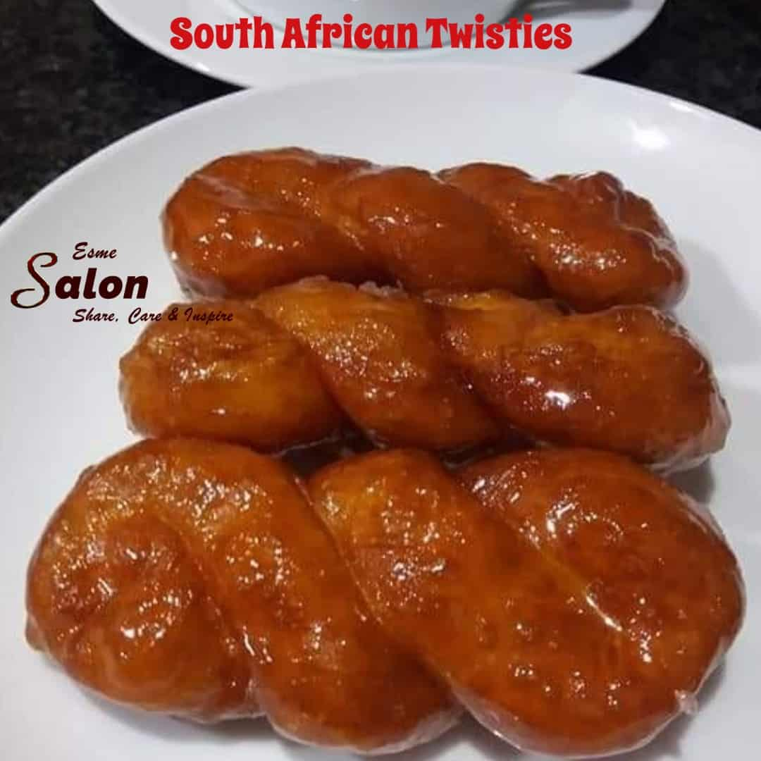South African Twisties - A Sweet, Sticky, Syrupy South African Treat!!