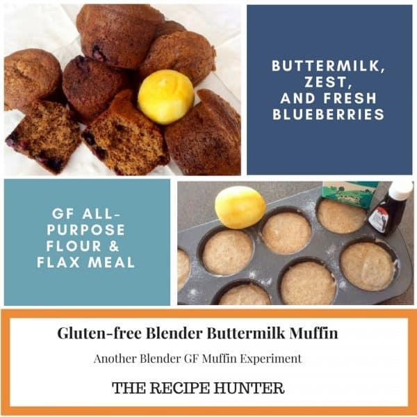 Gluten-free Blender Buttermilk Muffins