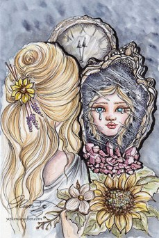 Esme And The Mirror ©Carolina Russo - Online Use