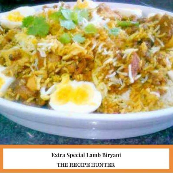 Extra Special Lamb Biryani