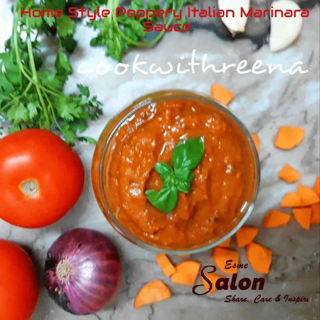 Home Style Peppery Italian Marinara Sauce