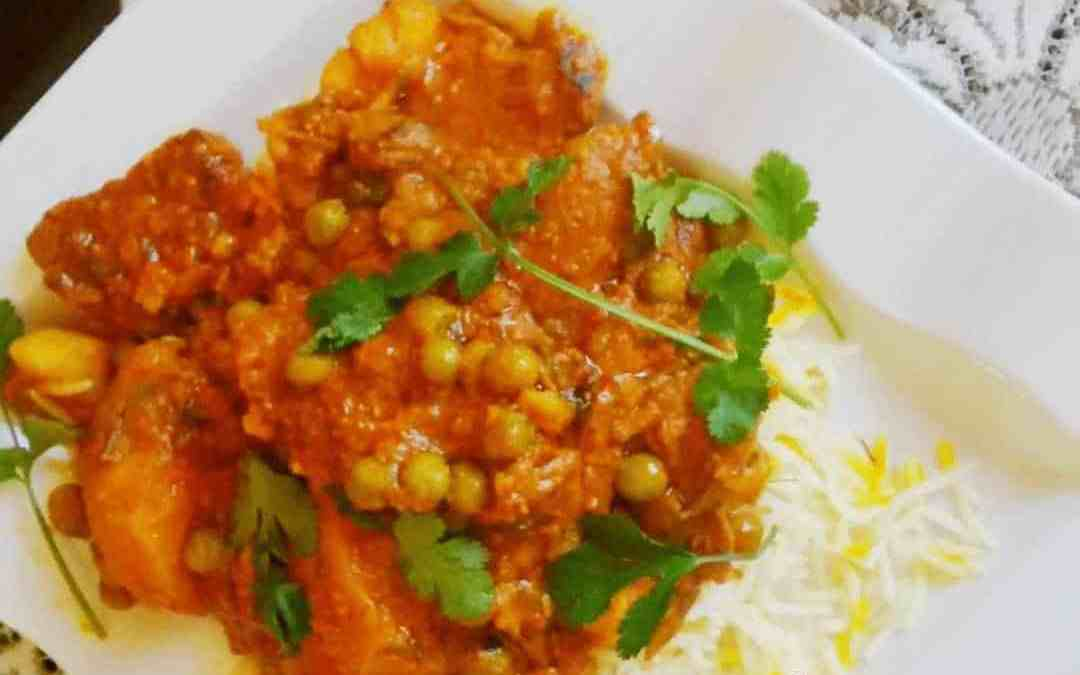 Beef Curry with Peas