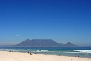 Beach with Table Mountain
