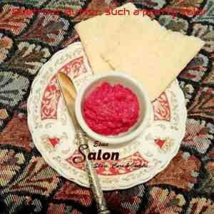Beetroot Butter, such a pretty color