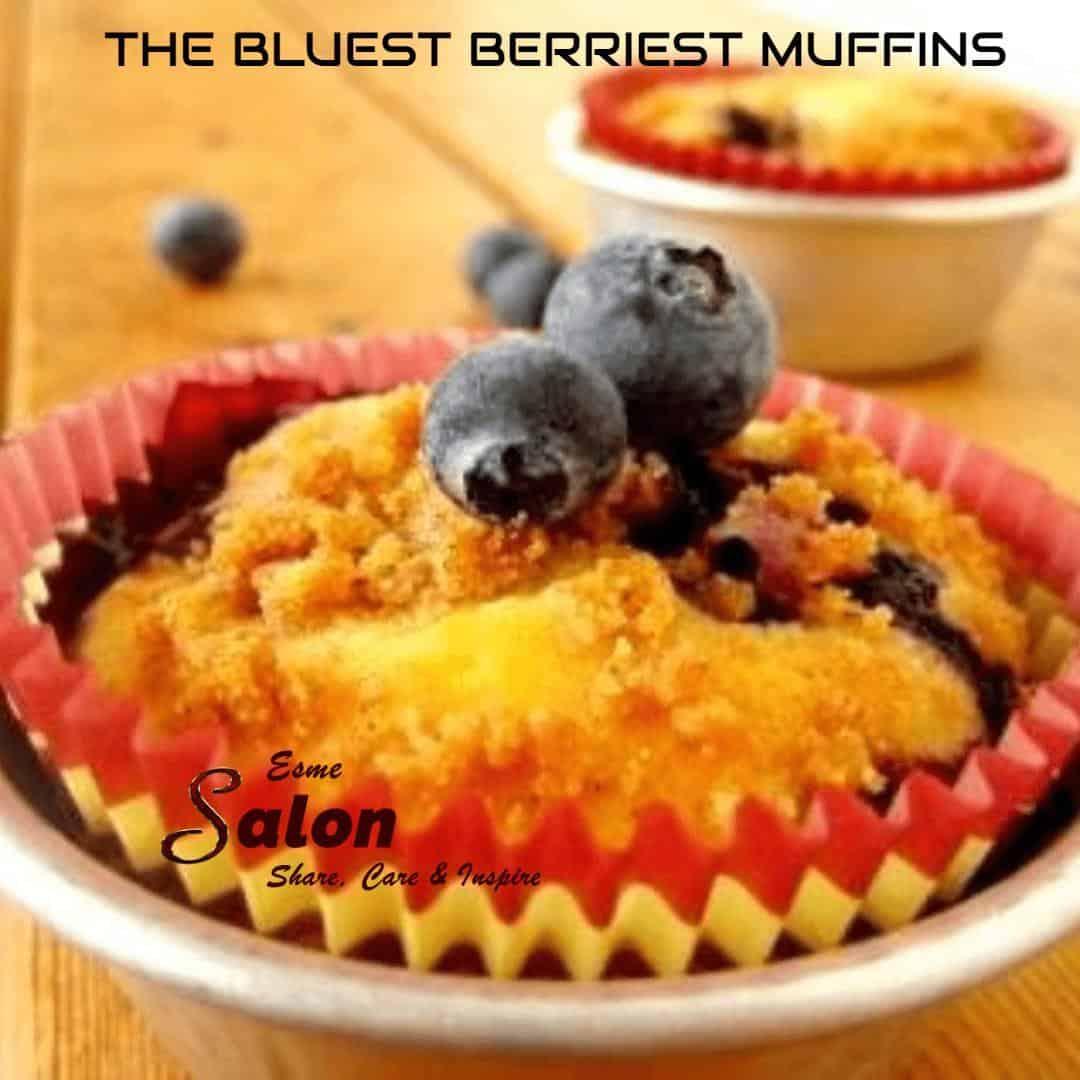 The Bluest Berriest Muffins