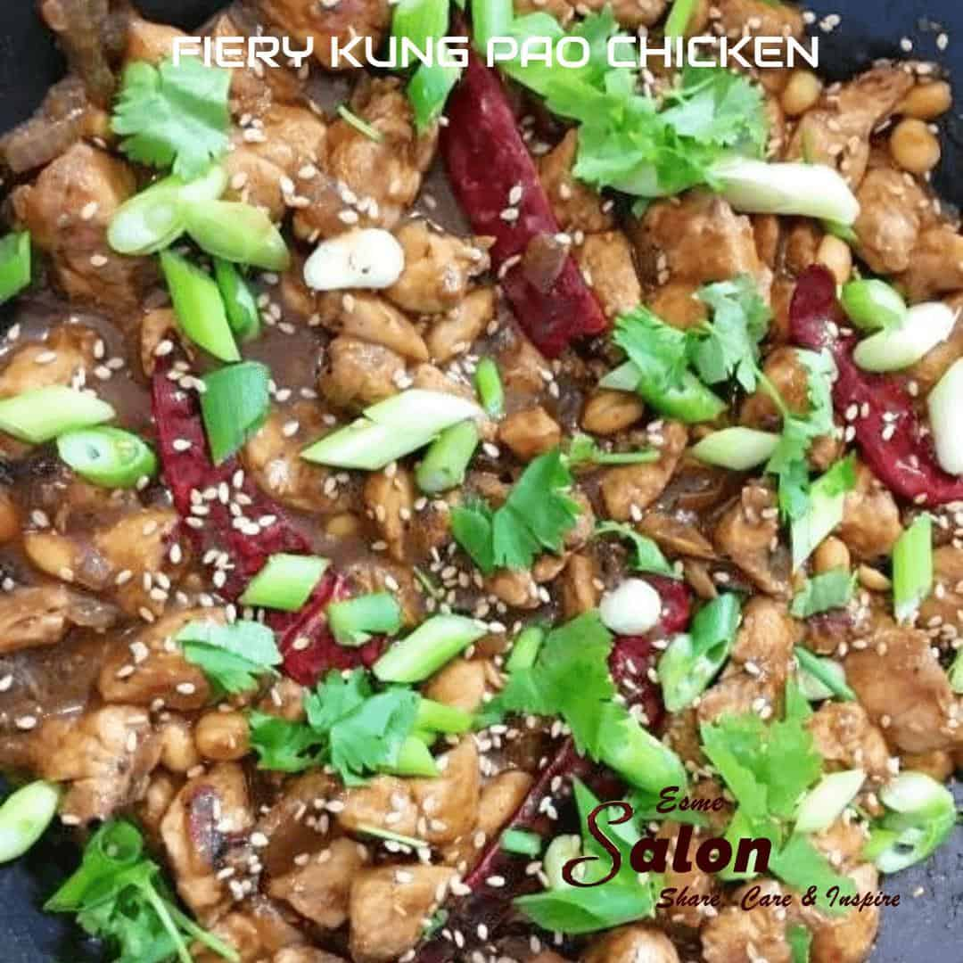 FIERY KUNG PAO CHICKEN