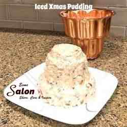 Iced Xmas Pudding To be decorated