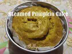 Steamed Pumpkin Cake2