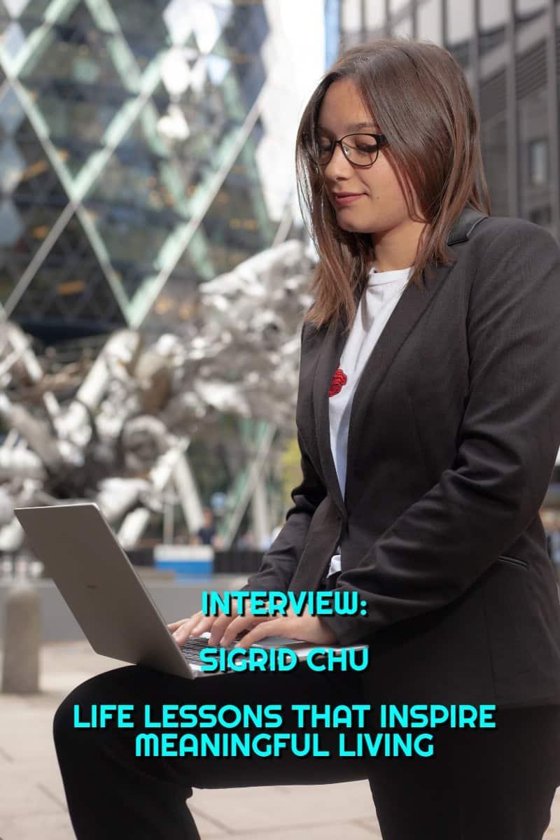 Sigrid Chu: Interview #Interview by #EsmeSalon #interview2019 #interviewadvice  #interviewproject #Esmeinterviews  #interviewquestions  #interviewanswers #interviewready #interviewchecklist