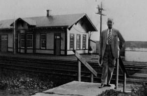Santa Fe Depot-Claude McKown