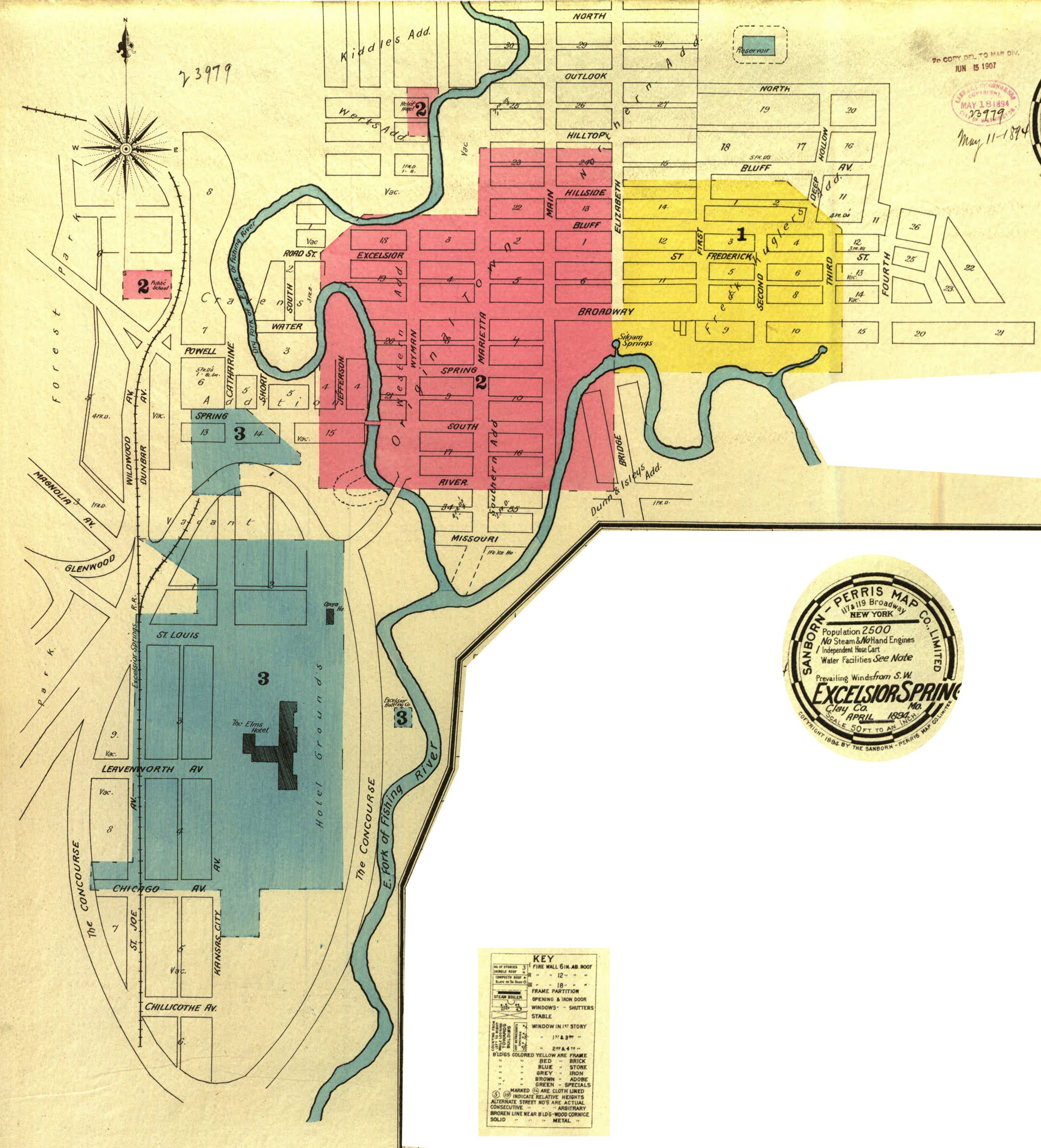 Sanborn Maps – 1894