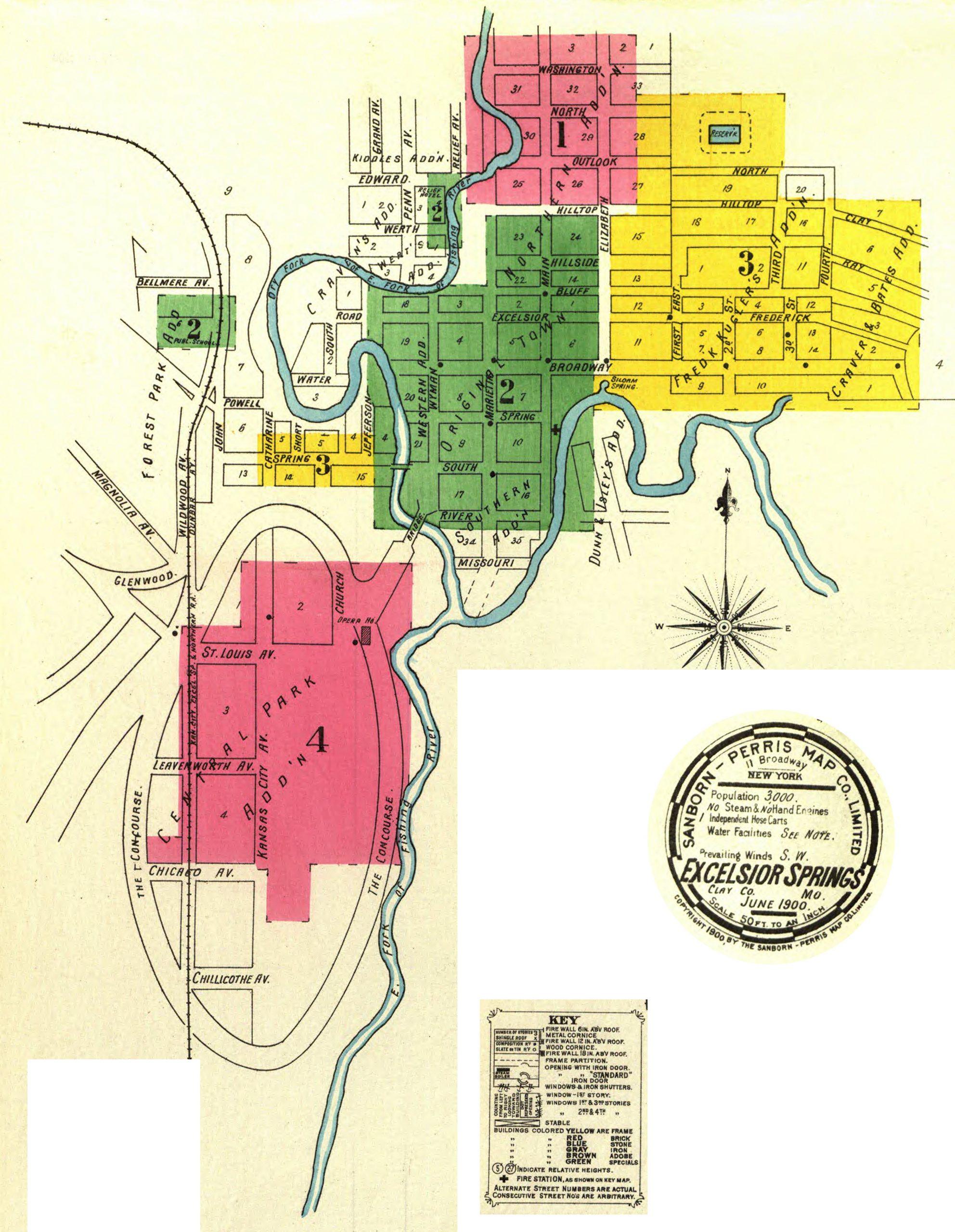 Sanborn Maps – 1900