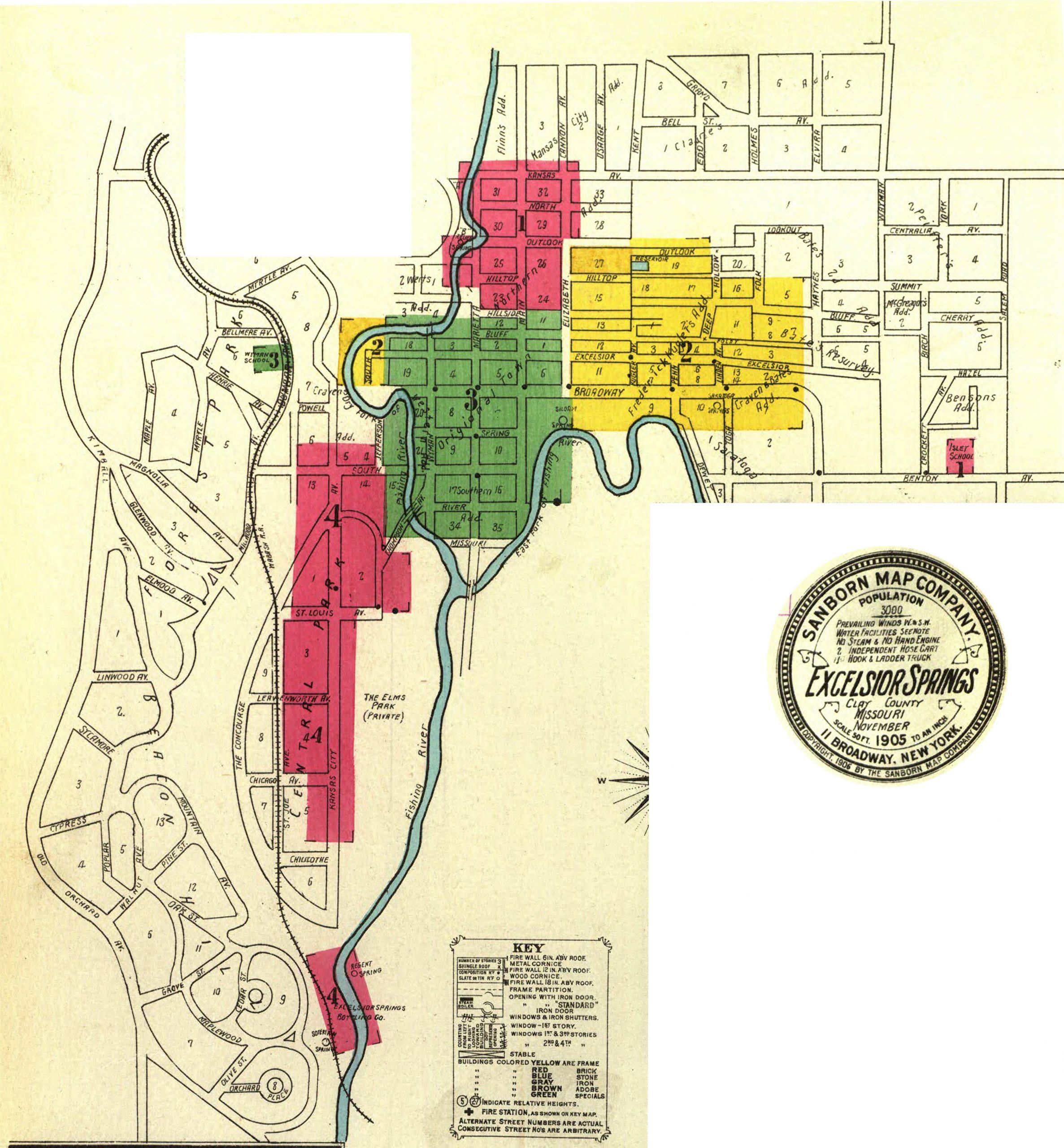 Sanborn Maps – 1905