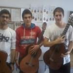 foto trio de guitarras