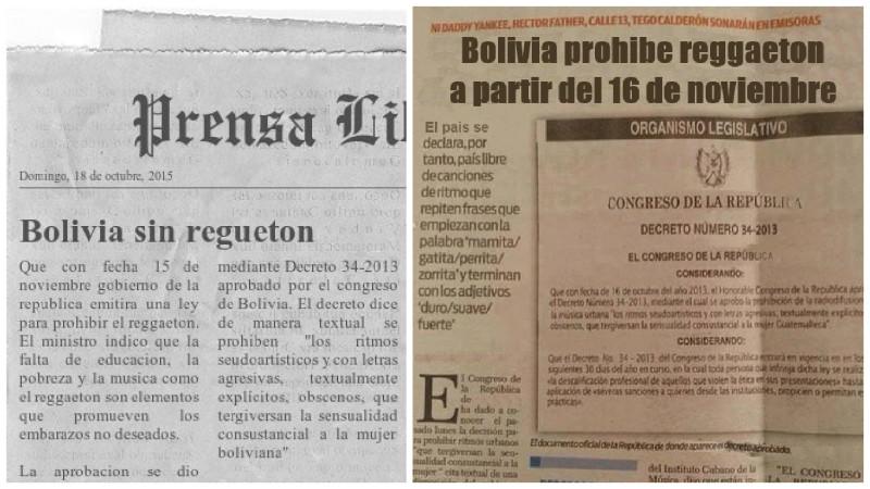 En Bolivia, prohíben el baile del reggaeton