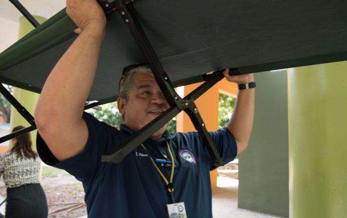 Ponce listo para abrir 4 escuelas como refugios