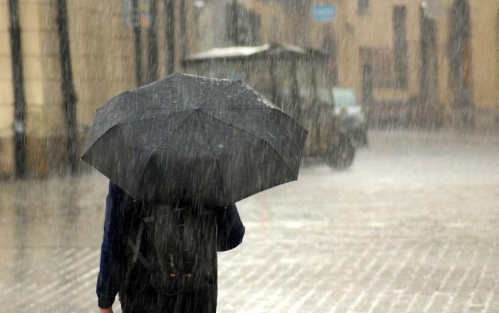 No guarde su paraguas