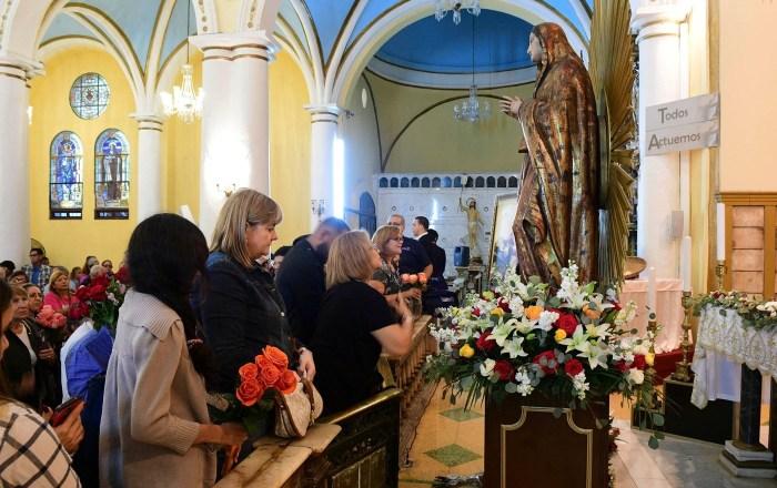 Ponce celebra con una misa la festividad de su patrona