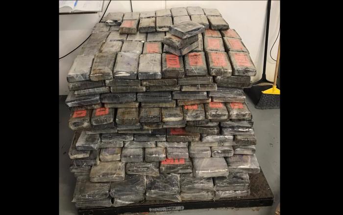 Ocupan cocaína valorada en $44.7 millones