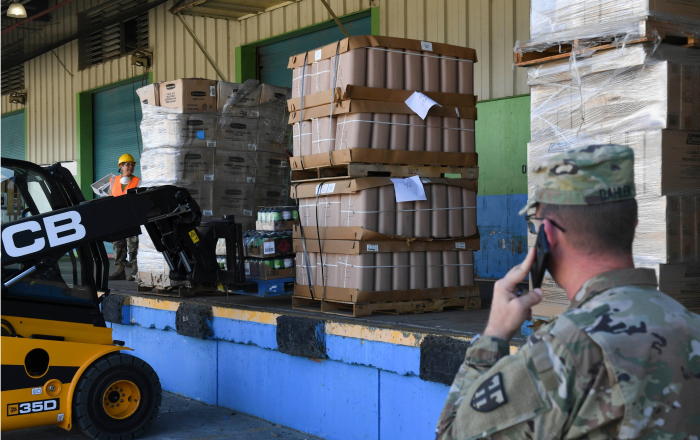 Guardia Nacional administrará almacenes de alimentos