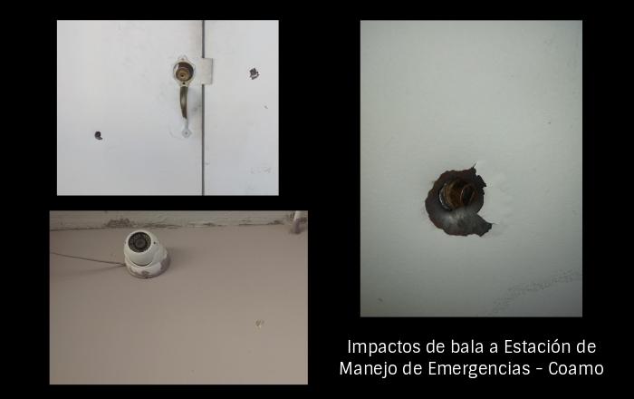 Atentado a tiros en Estación de Emergencias Médicas de Coamo