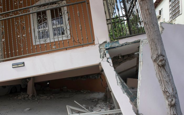 Para largo la reconstrucción tras el terremoto